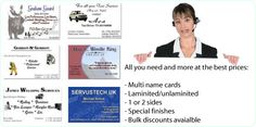 Business Multi Name Cards