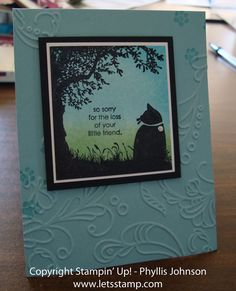 stampin up c is for cat | is for Cat