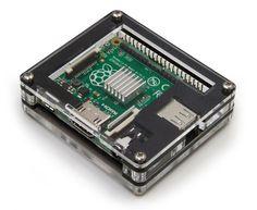 Zebra Case - Raspberry Pi A+ (Black Ice)