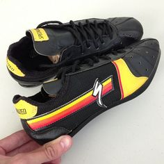 Vintage specialized cycling shoes! Love to see a reissue of these.