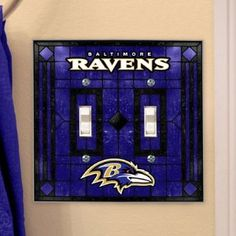 Dahniel on pinterest baltimore ravens school shirts and baseball for Baltimore glassware decorators