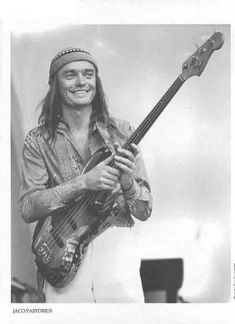 Jaco Pastorius. Coldest bass player of all time! And it was a fretless bass!