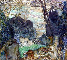 The Fauns / Pierre Bonnard - 1905-1910