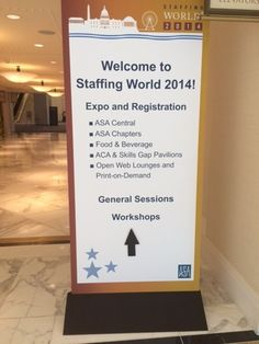 Linium's Recruitment Division attends Staffing World 2014