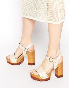 4052c420f465 HARLINGTON Leather Heeled Sandals