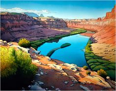 Jonathan Frank Studio - High Definition Watercolor Landscapes