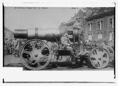 Austrian siege gun in Belg. [i.e., Belgium] (LOC) | Flickr - Photo Sharing!