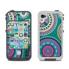 Lifeproof iPhone 4 Case Skin - Silk Road by Debra Valencia | DecalGirl