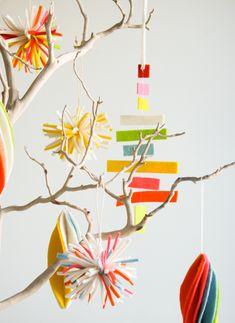 A Trio of Felt Ornaments - the purl bee