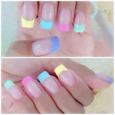 Easter nails..Actually like this!!