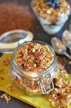 Quinoa Crunch Granola (Vegan)