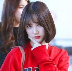 icons of eunha ((effect)) Korean Bangs, Korean Short Hair, Get Skinny Legs, Hair Icon, Shot Hair Styles, Kawaii Girl, Beautiful Asian Girls, Bob Hairstyles, Me As A Girlfriend