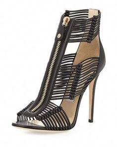 3bcf40380f3 NMS15 X2HC2 Jimmy Choo Katie Strappy  JimmyChoo Black High Heel Sandals