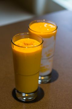 A very easy and delicious Mango Lassi recipe! Try it!