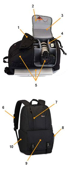 Amazon.com : Lowepro Fastpack 250 Camera/Laptop Backpack : Photographic Equipment Bags : Camera & Photo
