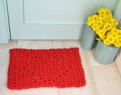 Haz tu alfombra de ganchillo KIT DIY con todo lo necesario para tejer una alfombra con cuerda de algodón  Learn crochet and make this cute rug with XL rope!  http://idoproyect.com/kits/haz-tu-alfombra-de-ganchillo.html#