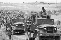 14 Jul 1969, Saigon Members of the Ninth Marine Regiment are moving out of Vietnam July 14. They are the first U.S. Marines to leave this embattled land under President Nixon's withdrawal program.
