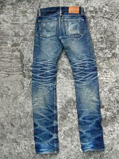 Edwin Jeans, Abs Boys, Japanese Denim, Raw Denim, Destroyed Jeans, Vintage Denim, Jeans Pants, Blue Jeans, Cool Outfits