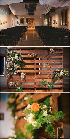 Gray and peach Boise, Idaho wedding. Captured By: Yes, Dear. Studio #weddingchicks http://www.weddingchicks.com/2014/10/14/gray-and-peach-wedding/