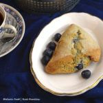 Blueberry Lime Whole Wheat Scones