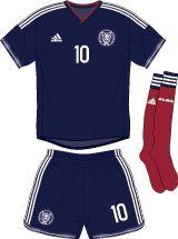 Scotland   home jersey   2014-16