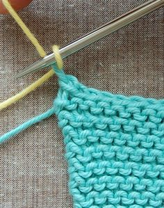 Log Cabin Washcloths | The Purl Bee