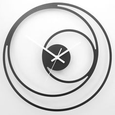 """Horloge Platinium - """"Non Concentric Cercles"""""""