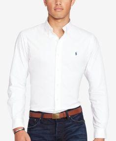 Polo Ralph Lauren Men's Stretch Performance Shirt | macys.com