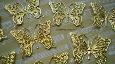 Brass Butterfly Filigrees in Supplies with a Surprise auction on @Tophatter http://tophatter.com/auctions/15458?campaign=all=interna