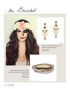 Pronte per la notte degli incubi? #Lampony' #earrings #halloween #night #leatherbracelet #skull http://www.giadaandco.com/designer-collection/lampony/orecchino-teschio-dorato-pietre-dure-grigio http://www.giadaandco.com/bracciali/bracciale-doppio-giro-pelle-rosa-cipria-anelli-dorati-regolabili