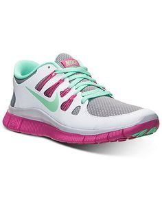 Nike Women s Free 5.0+ Reflective Sneakers from Finish Line - Sneakers -  Shoes - Macy s c520a4043e