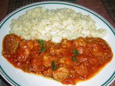 Chicken Paprikash, Garlic Naan, Ground Meat, Atkins, Chana Masala, Curry, Pork, Beef, Indian