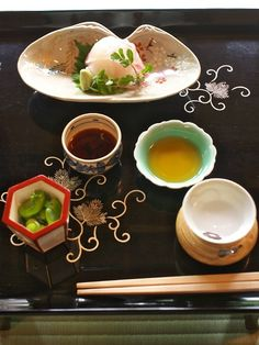 Sea Bream Sashimi, Kyoto, Japan 鯛のお造り