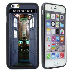 TARDIS Doctor Who Rubber Case Cover for iPhone 4s 5 5s 5c 6 6s plus Phone Case #UnbrandedGeneric