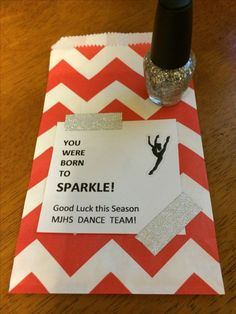 Dance team spirit gifts You were born to SPARKLE! - Dance team spirit gifts You were born to SPARKLE! Gymnastics Gifts, Cheerleading Gifts, Cheer Gifts, Softball Gifts, Basketball Gifts, Gifts For Gymnasts, Cheerleader Gift, Gymnastics Team, Soccer