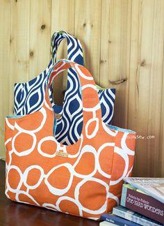 565 Hailey Bag 2 PDF Patterns-ithinksew.com