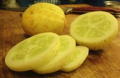 Tender and extra sweet, lemon cucumber seeds are great for salads and pickling! Purchase our non-GMO cucumber seeds for your home vegetable garden. Potato Juice, Cucumber Seeds, Yellow Fruit, Fine Gardening, Seeds For Sale, Home Vegetable Garden, Garden Seeds, Lemon Lime