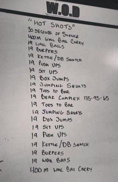 Crossfit. I want to do this! Honor and peace to you 19 brothers. ~ Re-pinned by Crossed Irons Fitness