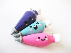 Handmade Icing / Pastry Bags Polymer Clay Charm by MonkeySushi, $12.00