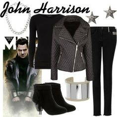 Ahahahha. I should get this outfit. :D I can look like Kahn a.k.a John Harrison from Star Trek.