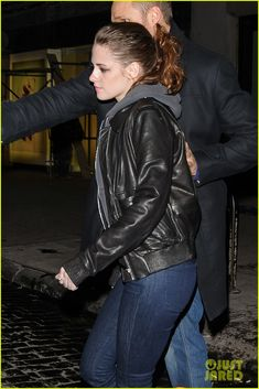 Kristen Stewart famous for being in tomboy styled casual clothes