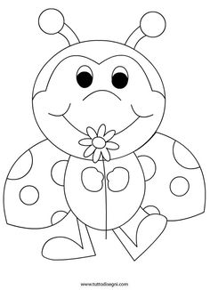 Ladybugs coloring page Learning time Pinterest Ladybug Lady