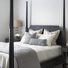 Hickory White Queen Poster Bed Greenville, SC