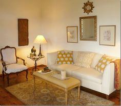 A cosy corner, should I bring gold into my living area?