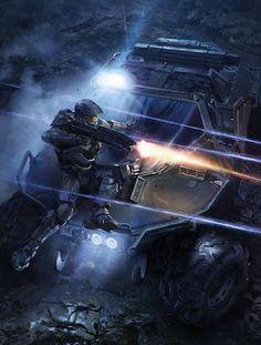 """Halo 4 Concept Art by Gabriel """"Robogabo"""" Garza"""