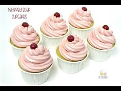 Video Tutorial - Whipped Soap Cupcakes