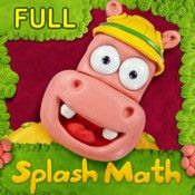 Splash Math Kindergarten App - Children Learn Basic Concepts like Writing & Tracing Numbers 1-20 or 1-100, Number Line and Recognition, ...