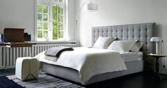 Nador Bed by Ligne Roset Modern Headboards Los Angeles