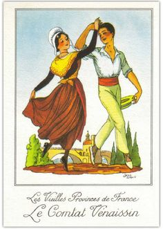 Fashion Illustration Poses, Couple Illustration, French Costume, Provence France, Folk Costume, Vintage Love, Traditional Dresses, Painting & Drawing, Photos