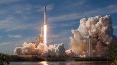 Falcon Heavy: Elon Musks goliath SpaceX rocket makes triumphant dispatch - Technology Elon Musk Falcon Heavy SpaceX Tesla Motors tesla roadster Tesla Roadster, Elon Musk, Spacex Falcon Heavy, Spacex Rocket, Sequoia, Falcon 9 Rocket, Spacex Launch, Rocket Launch, Ga In